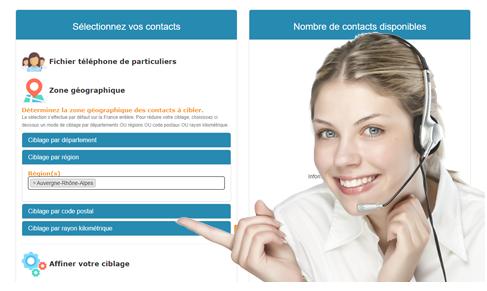 Achat de fichier télémarketing pour la téléprospection la vente à distance la prise de rendez-vous, devis en direct et achat en ligne