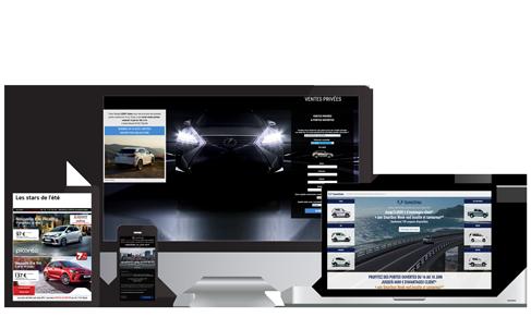 Création emailing et landing page pro